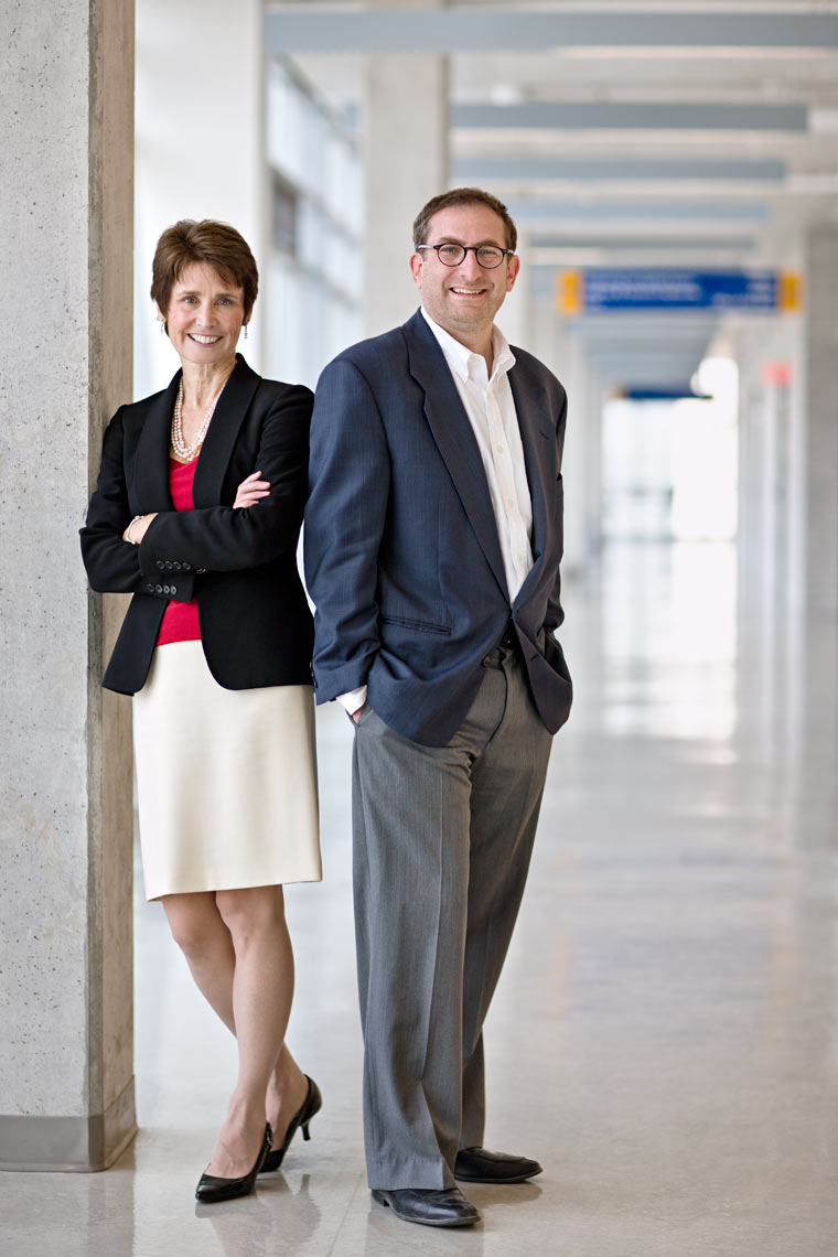 Debora Foster and Lorne Sossin