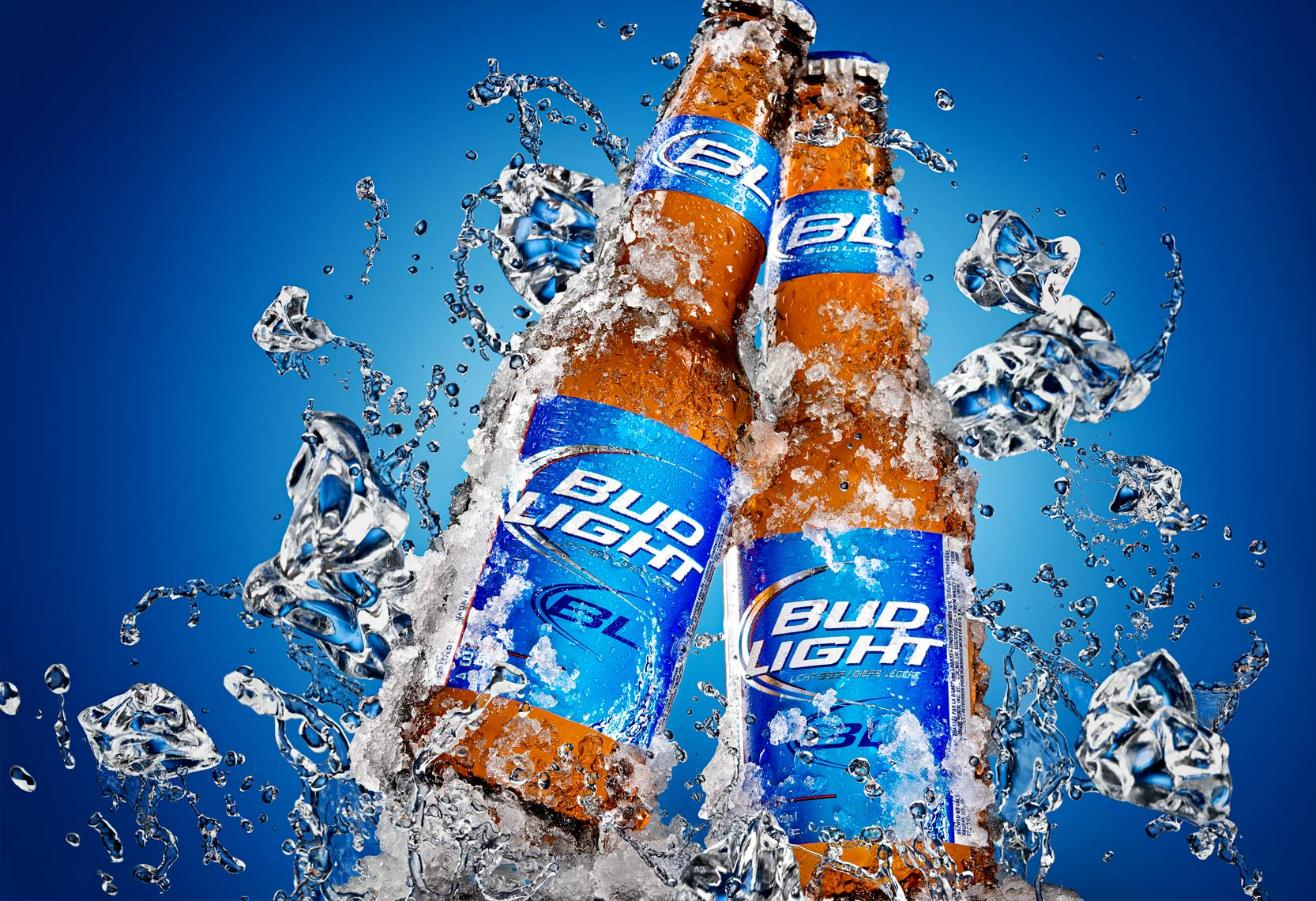 Ice Bud Light Splash